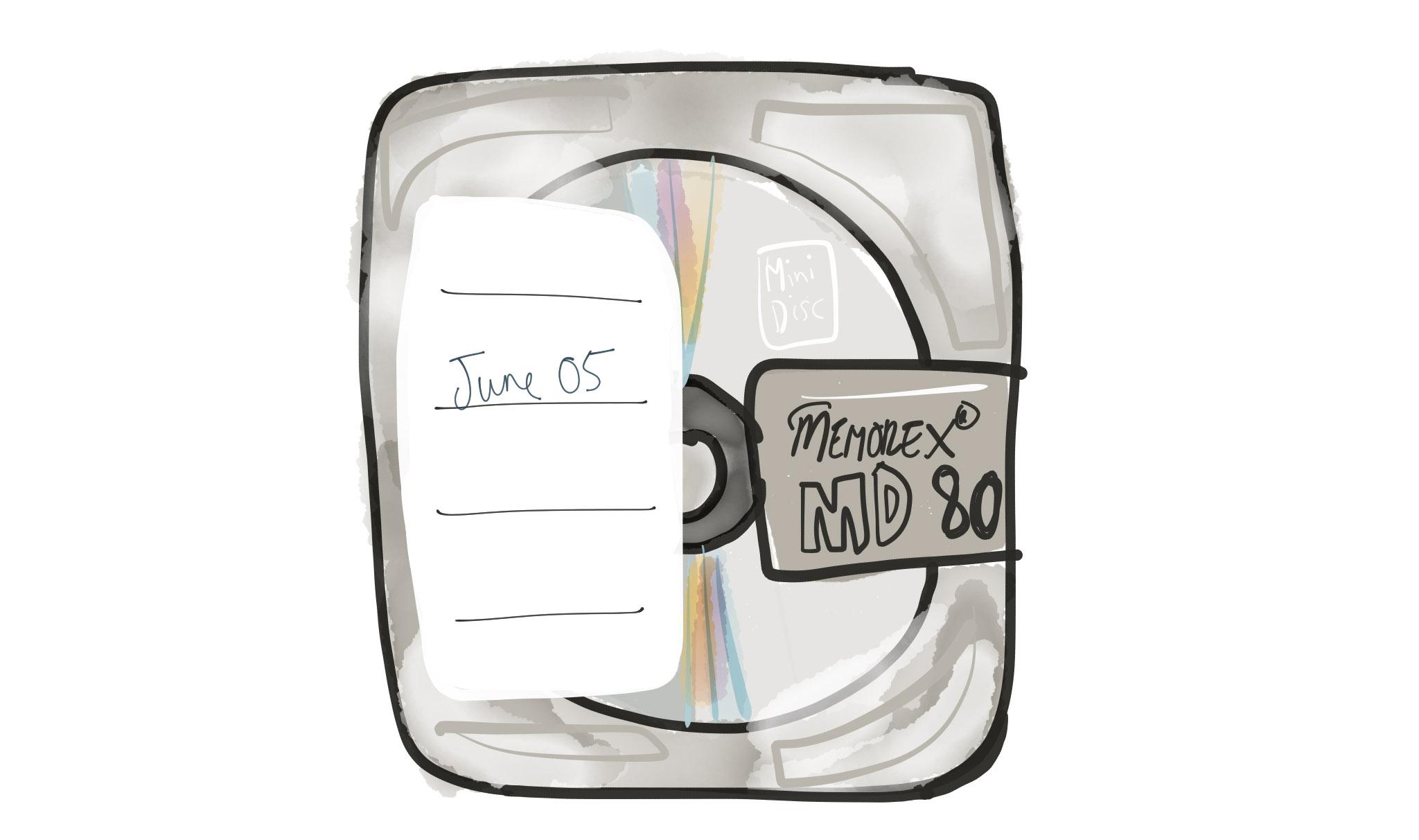 I tried, ok. I've not seen a Minidisc in 10 years