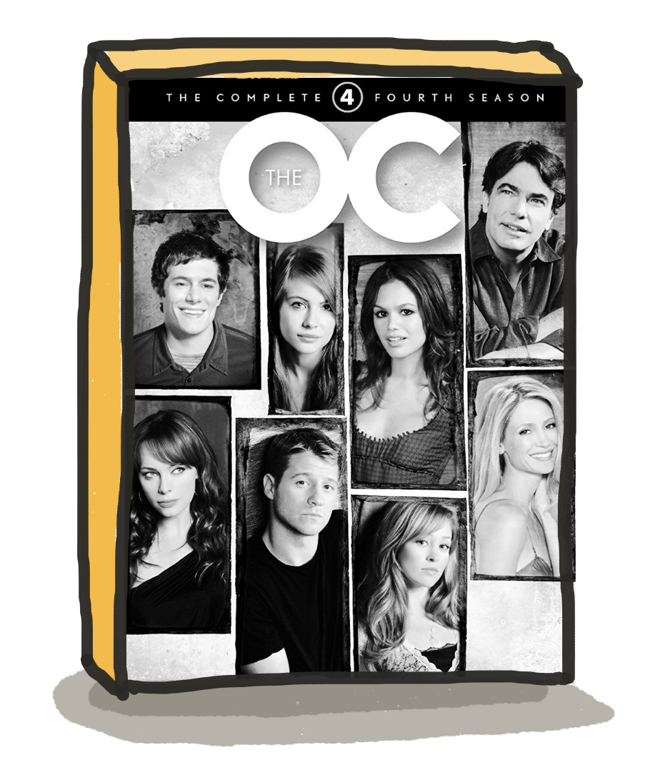 If this week was a season of The OC... - ...it would be the fourth.