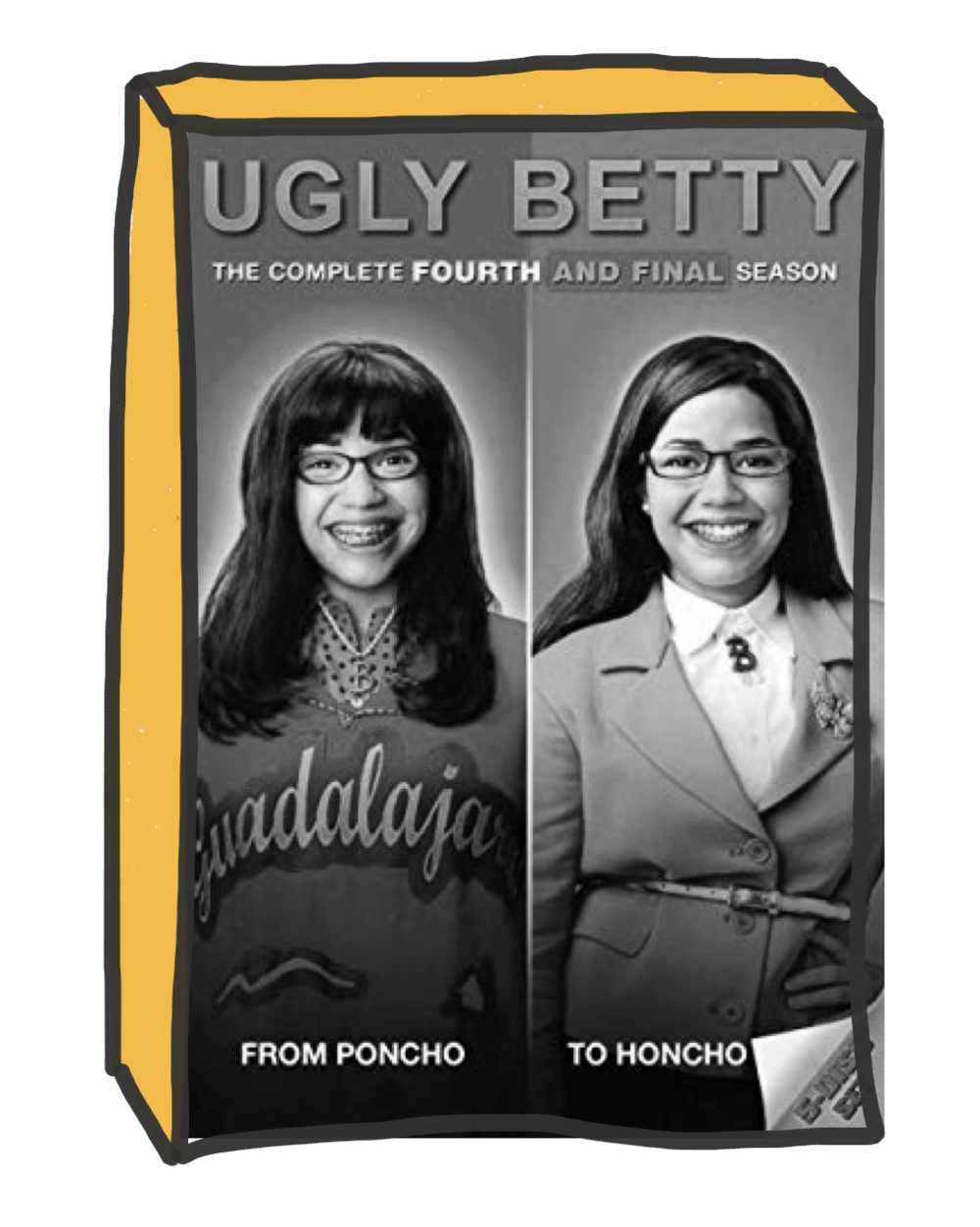 If this week was a TV Show... - ...it'd be one of the latter day 'arcs' of US comedy/drama, Ugly Betty.