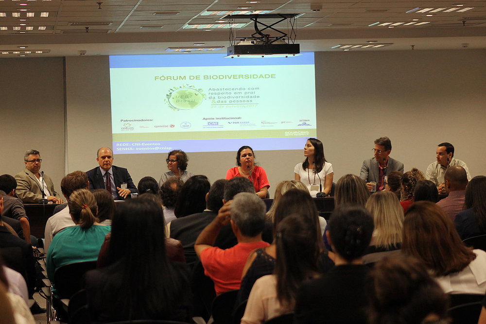 UEBT Brazil forum 2017 debated the socio-environmental challenges in complex supply chains - - 90 participants-79% from the industry sector- 95% rated the conference as good/very good- Participants valued interactive discussions and knowledgeable contribution of panelists.