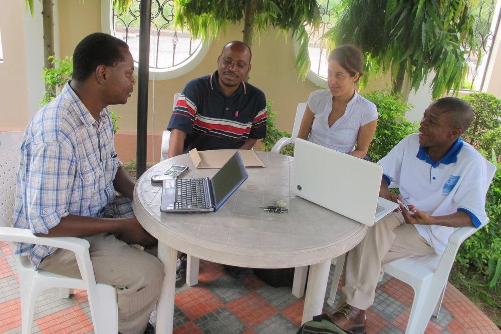 Novel Development Tanzania Ltd in a meeting with UEBT