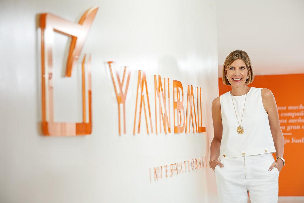 Janine Belmont, CEO of Yanbal