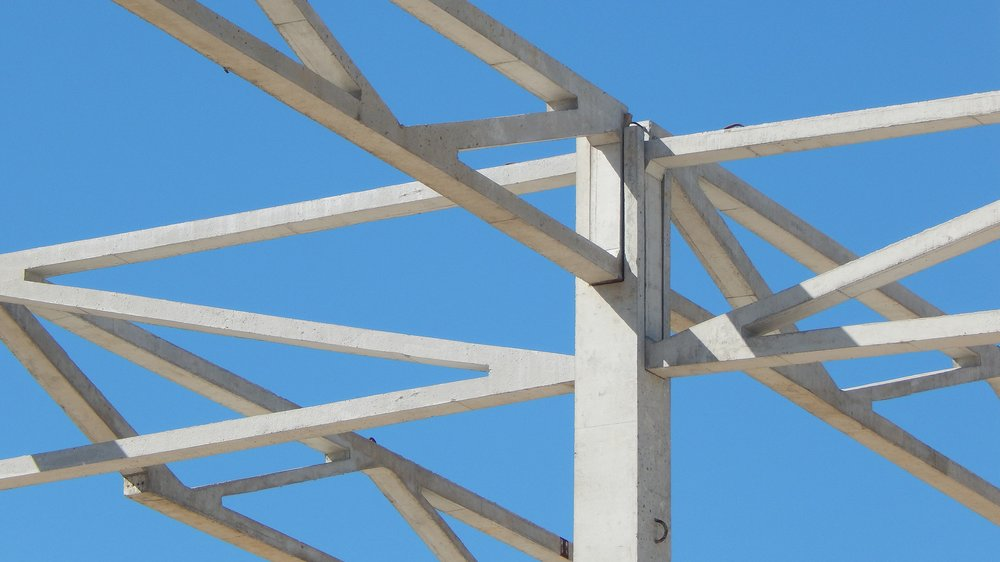 MOUNTING LATTICE TRUSS - DETAIL: CONSTRUCTION OF 'CERMAT', BITOLA
