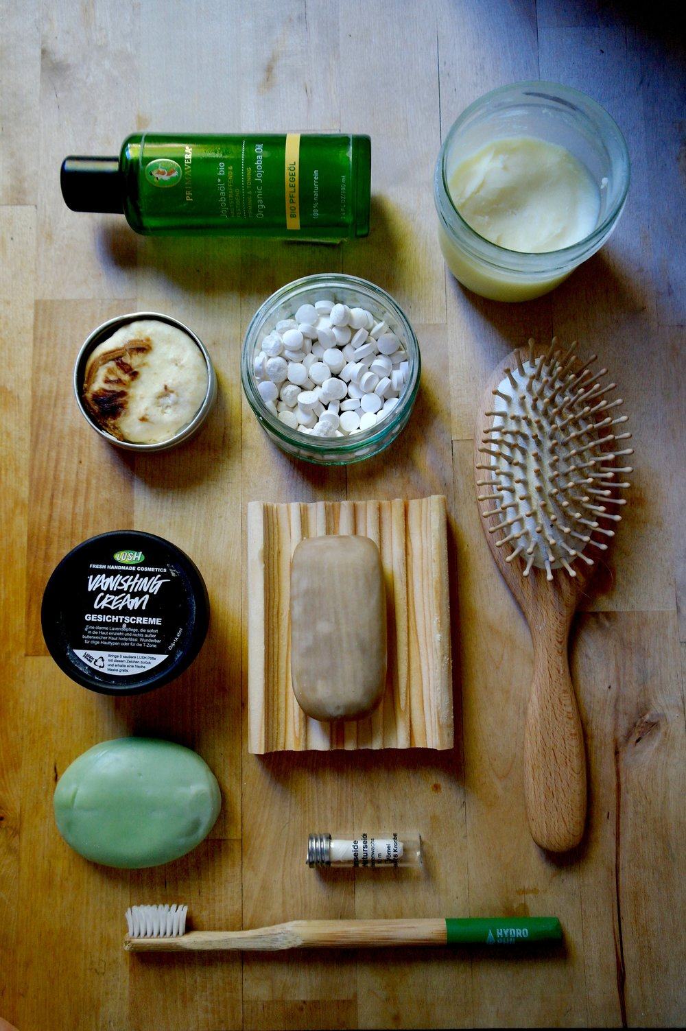 zero waste beauty swaps