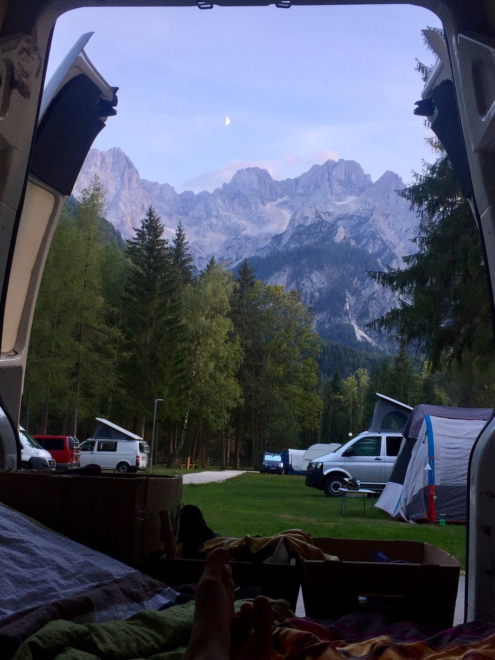 best campsites slovenia