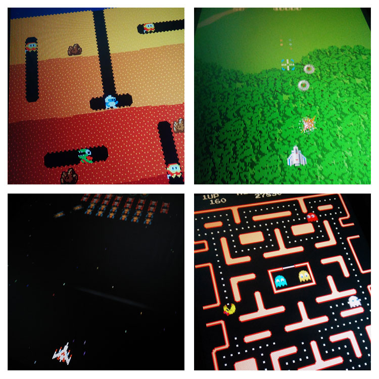 Namco arcade games