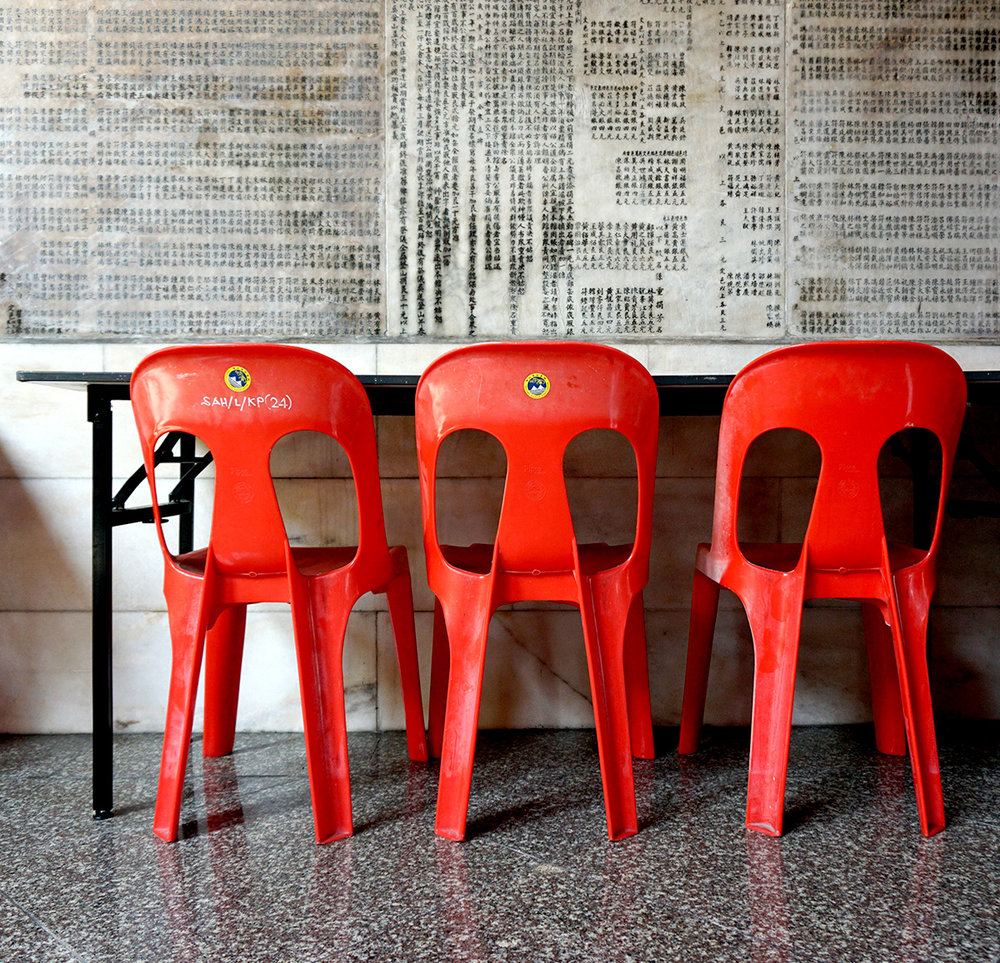 Chairs in Penang, Malaysia