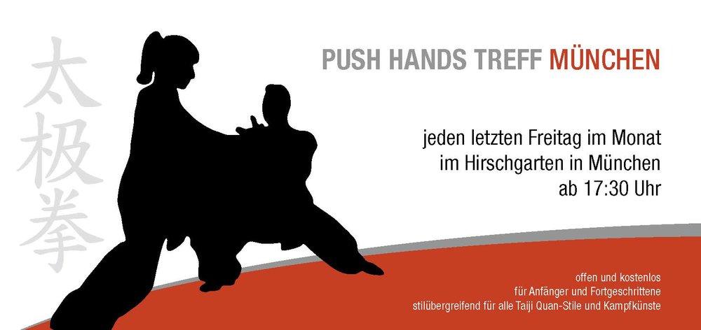 Mitbegründer des Pushhands-Treff München