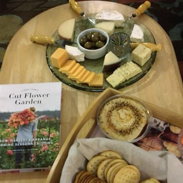 Flower Arranging Class Cheese Plate.jpg