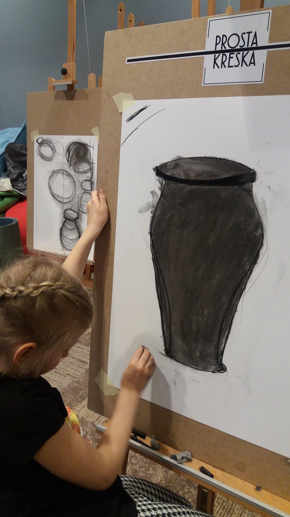 Techniki Tworzenia Obrazu - Szkice Węglem