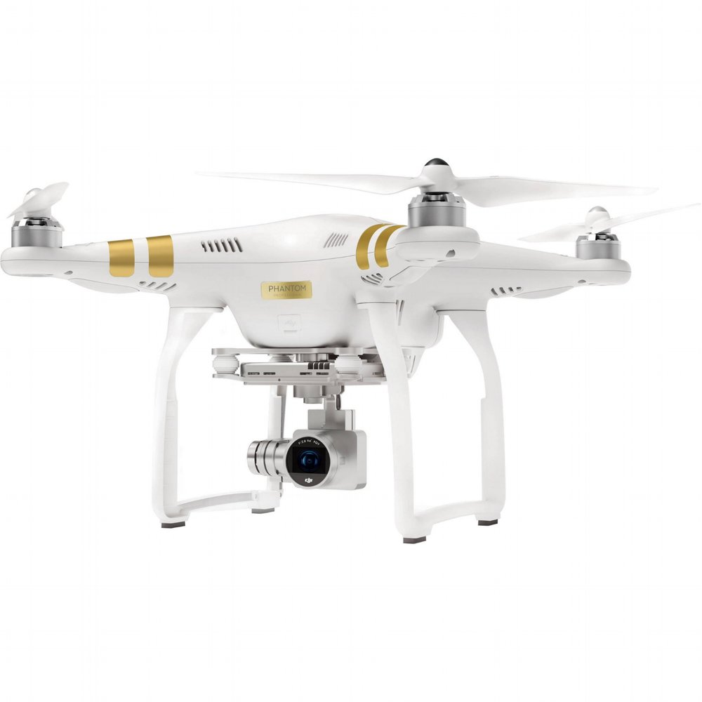 This is a drone we use called the Phantom 3 Professional Drone.