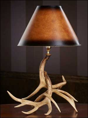 Whitetail Antler Table Lamp