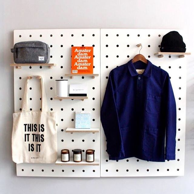 We are selling our lovely pegboards.  Each board measures 66cm x 114cm. And includes 2 x small shelves , 2 x large shelves and 6 x dowel pegs. €120 each.  Available for pick up in store only.
