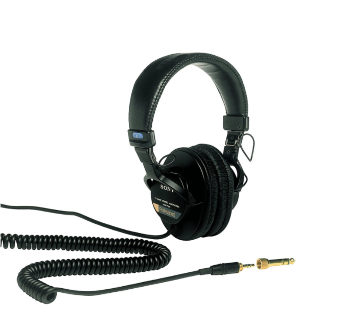 Sony MDR7506 Large Diaphragm Headphone