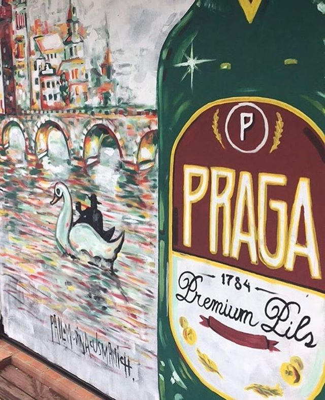 Thanks for sharing @euroshoppy 🍺 amazing drawing of Praga and Prague 🍺