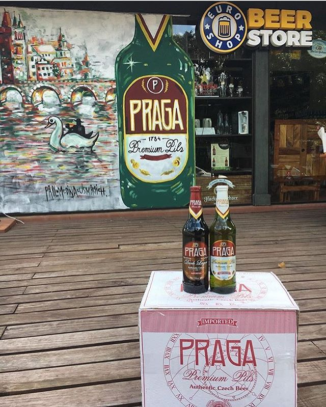 It is always a good time for a #pragabeer 🍺 #czechbeer #pragapils #praga