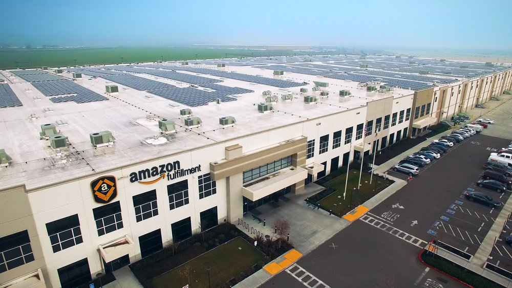Amazon  Single-Tenant Distribution Center 62,900SF  *Photo not of actual property. Location and price currently confidential.
