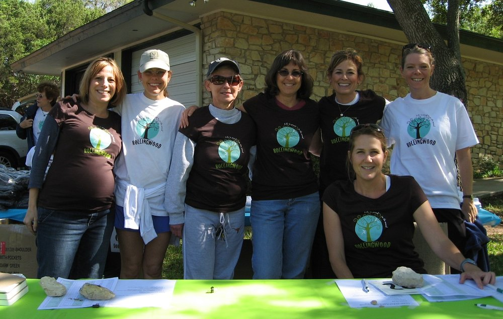 Volunteers from the 2008 race