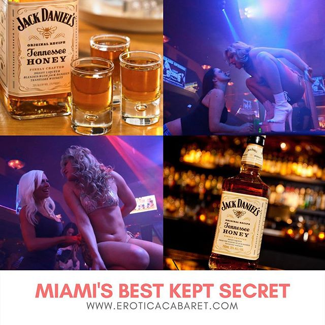 It's Tuesday  and we know... it's still hard to start a new week but in EROTICA we will help you out! Enjoy our specialty Jack Daniels drinks and let everything go smooth... Reservations:  www.eroticacabaret.com  #adultentertainment #music #dancers #stripclub #twerk #miami #sexy #share #miaminightlife #eroticacabaret #cocktails #whiskey #party #nofilter #lit #girls #adult #strippers