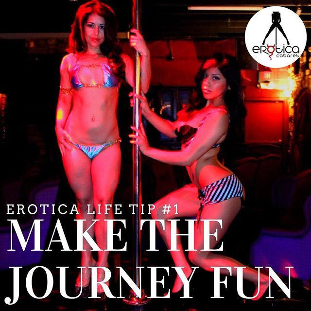 Solo hay una vida, disfrutala al maximo! Make the journey FUN. Experience... Erotica. Reservations: www.eroticacabaret.com  #adultentertainment #music #dancers #stripclub #twerk #miami #sexy #share #miaminightlife #eroticacabaret #cocktails #whiskey #party #nofilter #lit #girls #adult #strippers