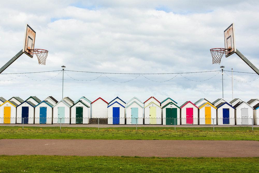 Beach huts, Paignton, Devon