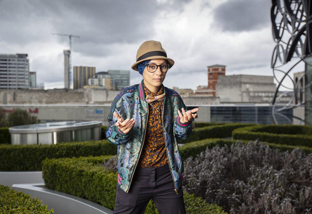 Amerah Saleh, spoken word artist