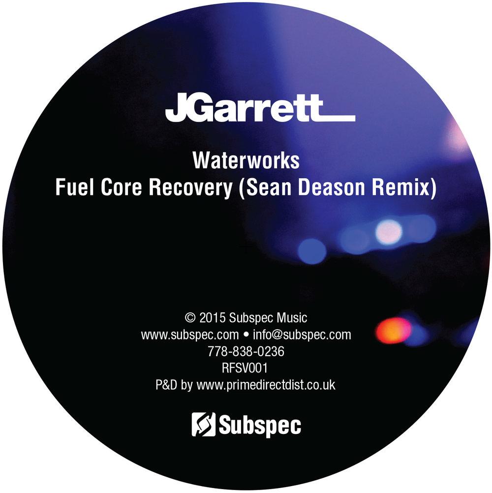 """JGarrett / Rennie Foster - split Subpsec / RF 12"""" (RFSV01)"""