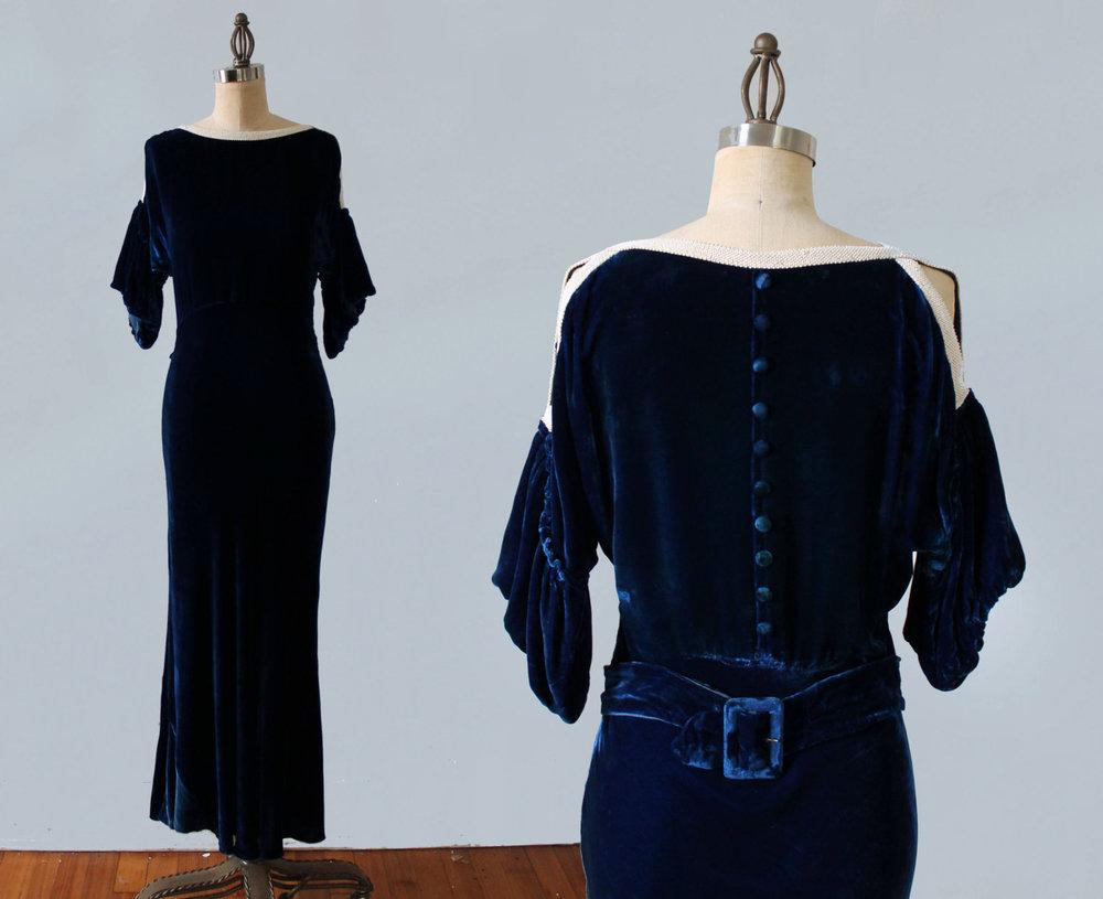 DRESSES: 1930s - 1940s — GUERMANTES