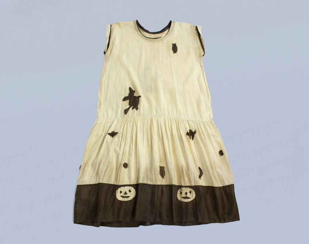 Halloween dress, 1920s