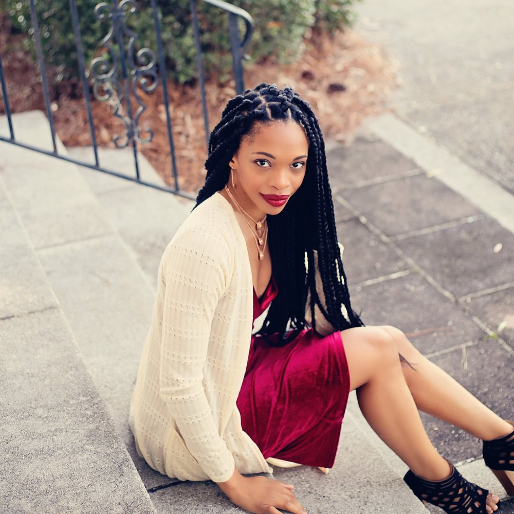 The graphic designer, business strategist, and creative entrepreneur behind Shelly C. Studio.
