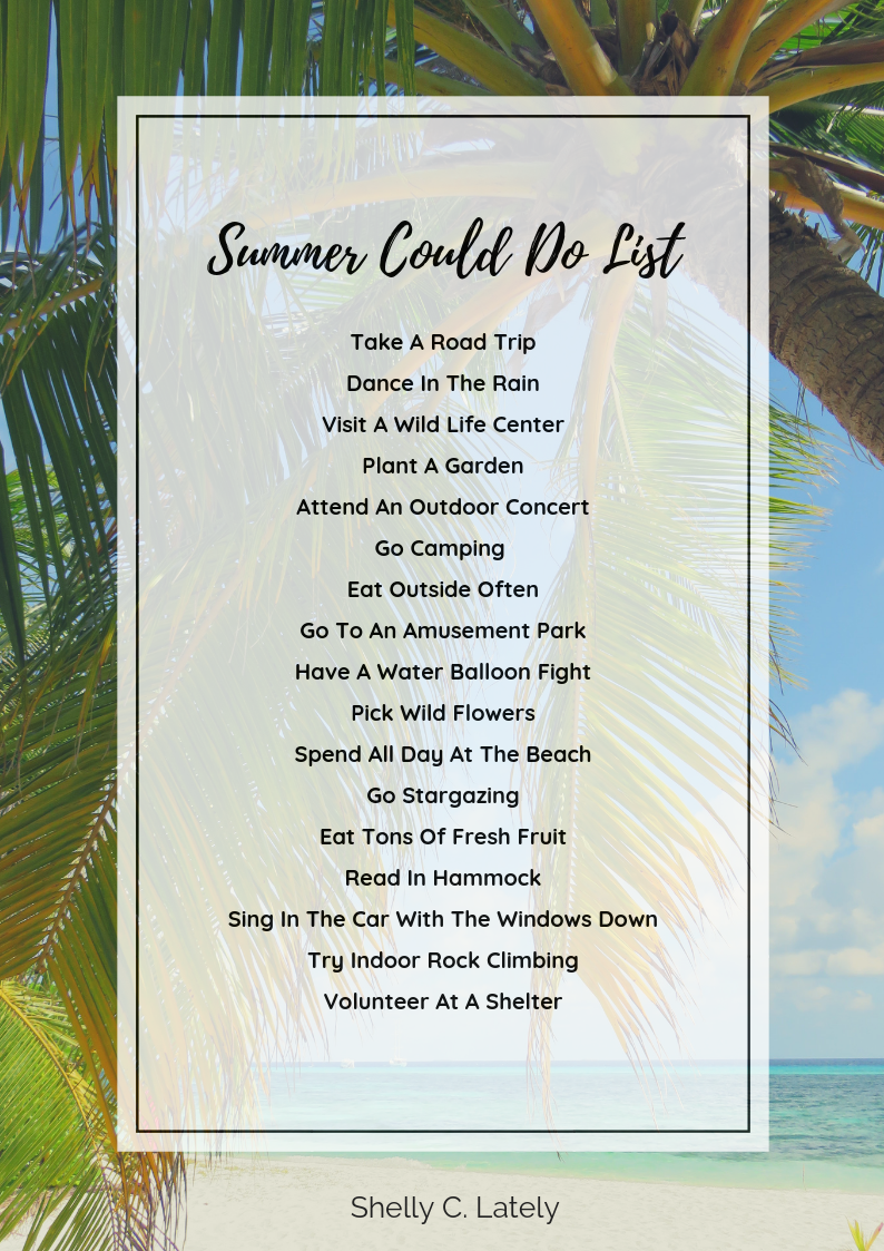 Shelly C Lately Summer Could Do List 2018.png