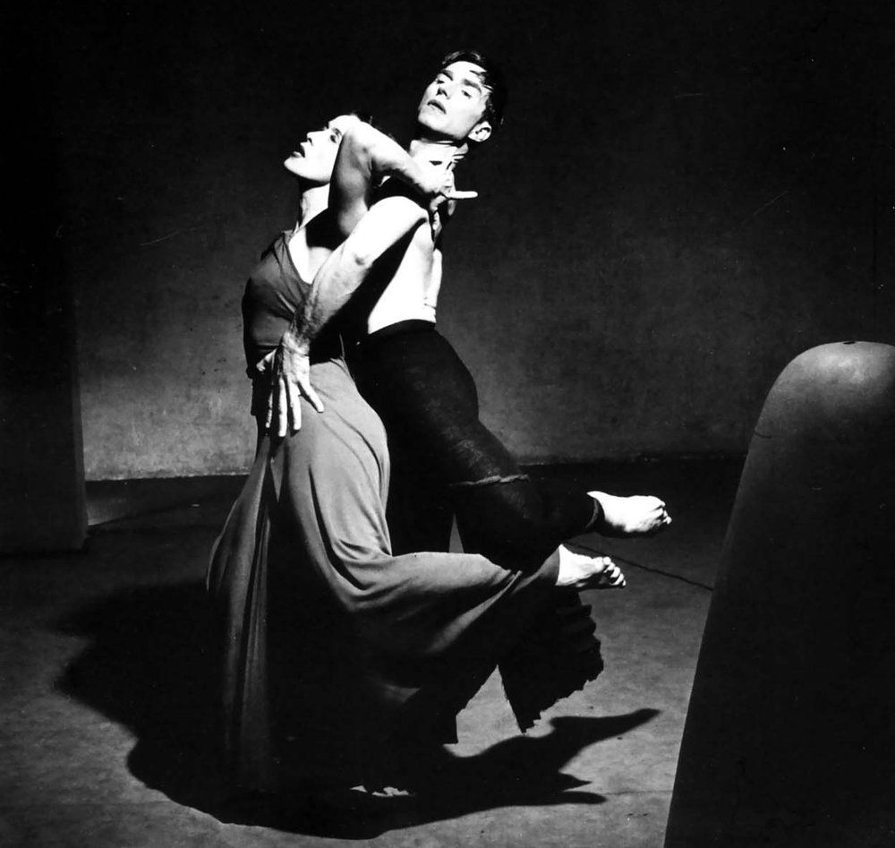 American dancers and choreographers Martha Graham and Erick Hawkins, 1946 . Credit : Philippe Halsman. (CC BY-NC 4.0)