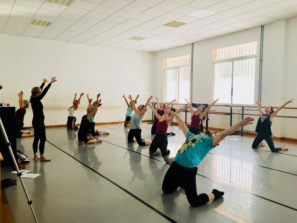 Master Class with Master Teacher Marnie Thomas at the Conservatorio Superior de Málaga, July 2018
