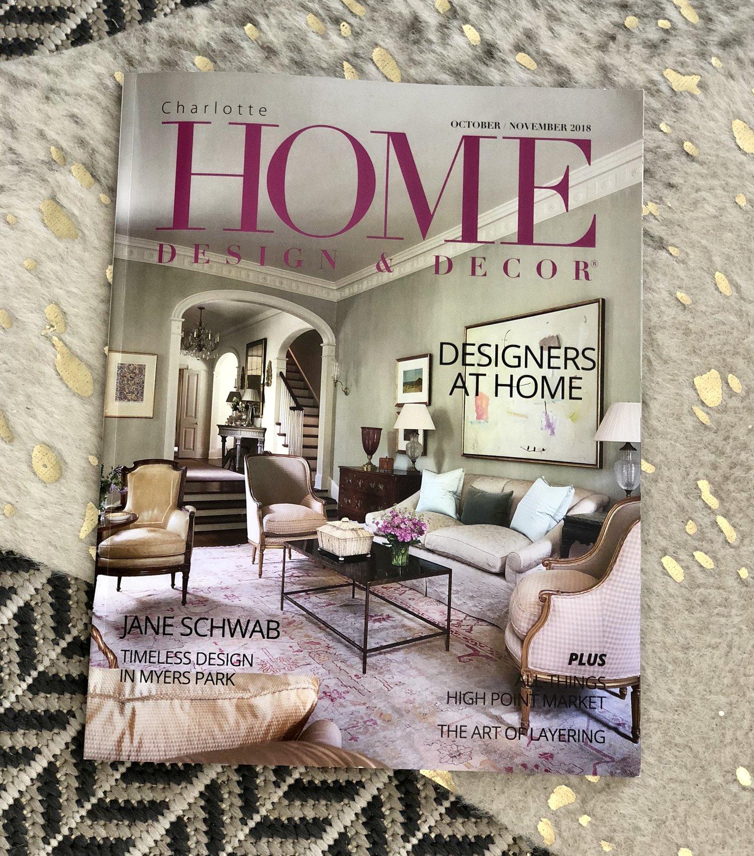 Home Design Et Deco charlotte home design & decor: to market — stilo