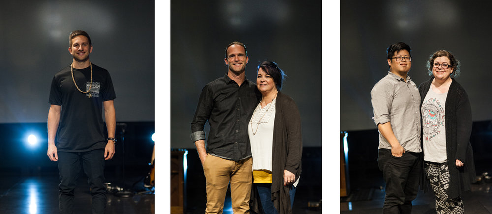 Senior High Youth Pastor Caleb Hubbard                                  Youth Pastors Jason and Melanie McKay                          Junior High Youth Pastors Brett and Sara Carleton