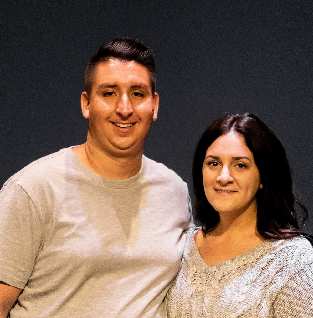 Project Manager Chris Dobek & wife Katie