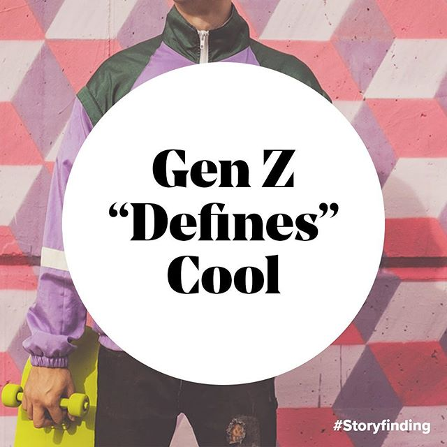 "A recent (and highly criticized) study by Google on Gen Z ages 13-17, revealed that ""something becomes cool when it brings joy or happiness or is unique enough to stand out from everything"". Of the top 10 ""coolest brands,"" two were CPG (Oreo & Doritos), while the rest deliver experiences: Youtube, Netflix, Google, Xbox, GoPro, Playstation, Nike, and Chrome.  Over the past few years, we've learned that Gen Z has developed a taste for brands that keep them informed, inspired and entertained. Successful storymaking ensures a brand can flex across all three, while maintaining the story only they have permission to tell.  Source: ""It's Lit""—Google 03.2017"