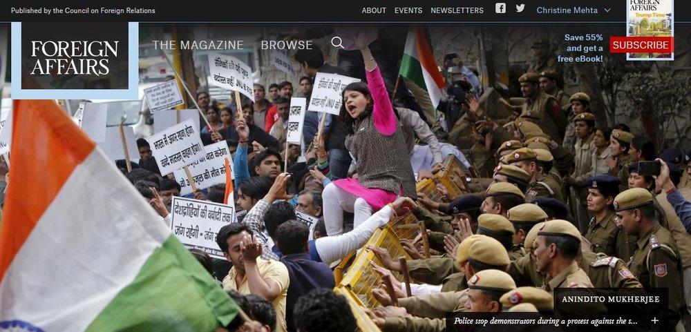New Delhi Tamps Down on Free Speech -