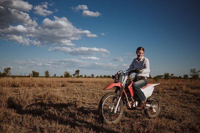 Eliza, a motorbike and the big blue sky. . . . . . . . . . . . . . . #sunshinecoastphotographer #rmwilliamsoutbackmagazine #akubraofficial #country #rural #kuntrygram #outbackaustralia #thankafarmerforyournextmeal #wattlewomen #graziher #countrykids  #ruralroom #farminglife #rurallife #countryliving #rsa_rural #rural_love #aussieag #EldersLimited #AgInFocus #strivetobeanartist #ozshotmag #exploreaustralia #visitsunshinecoast #travelQLD #thinkoutside #ABCmyphoto #AUSTRALIA_OZ