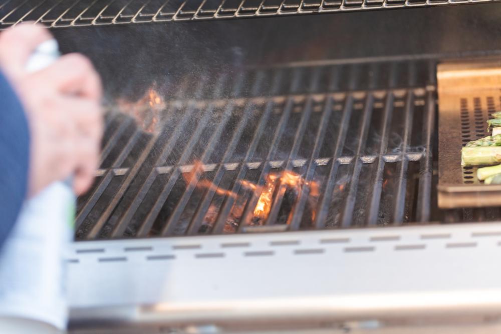 Seasoning a Grill