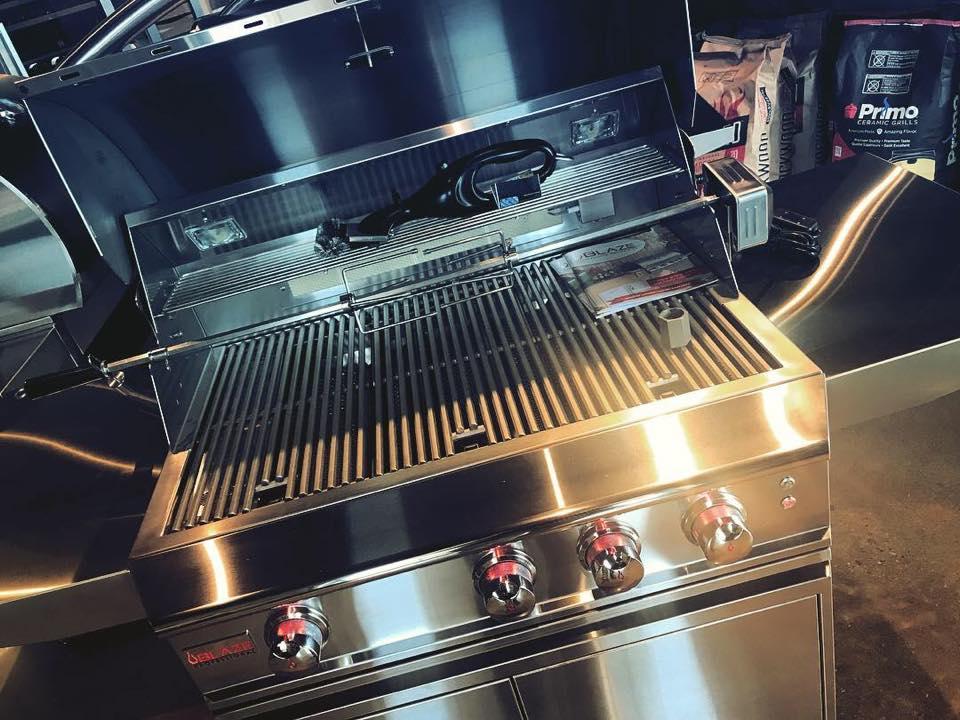 propane gas grill