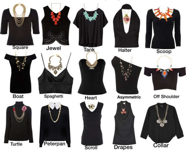 How To Choose The Perfect Necklace For Your Neckline — Glamatic Boutique 59613fd50
