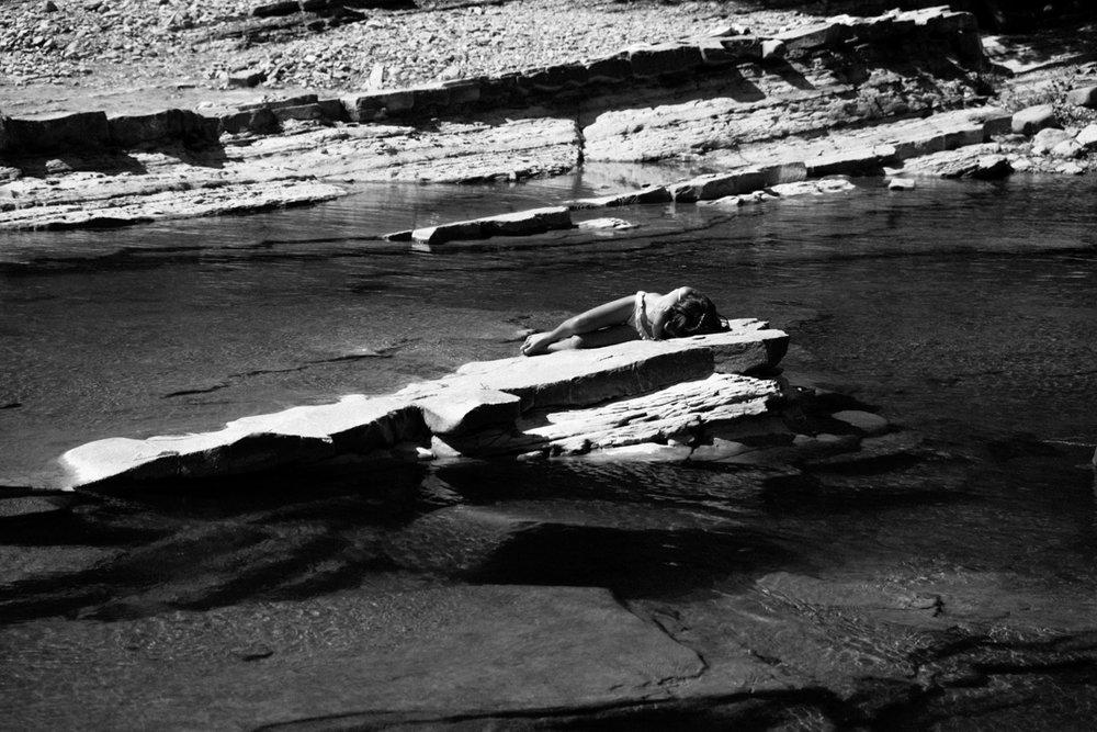 Santerno river, 2016