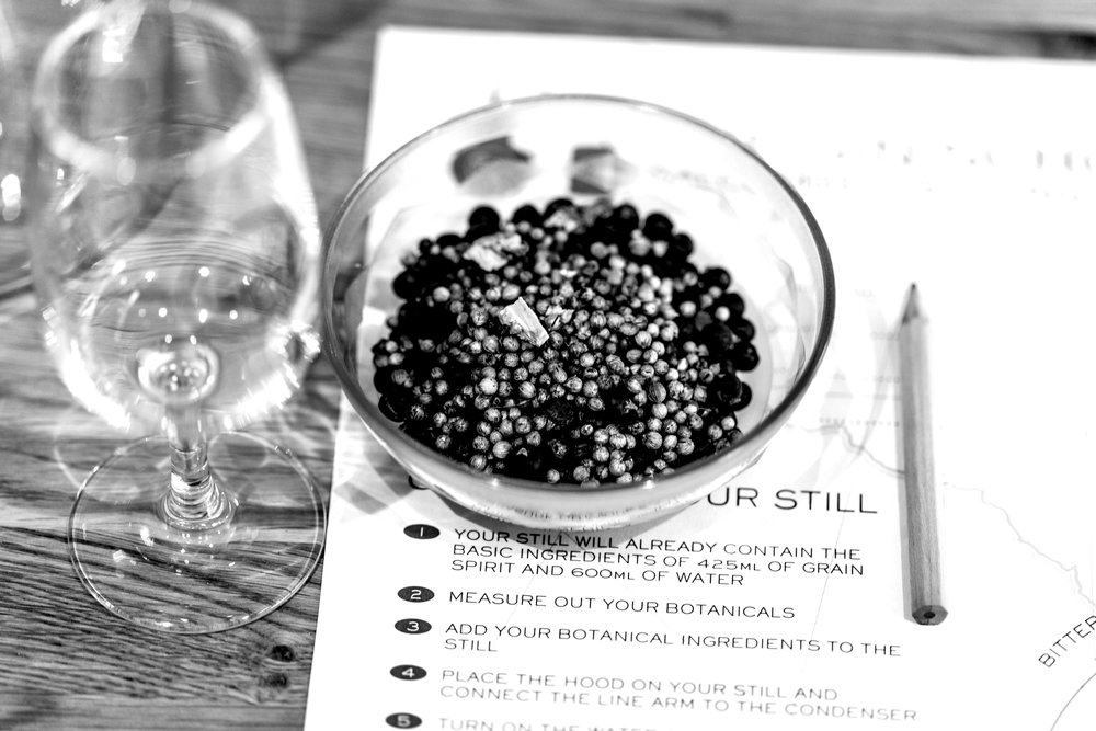 DEVELOP YOUR UNIQUE GIN RECIPE - To help create your gin recipe, you'll have your pick of a range of botanicals or you can bring your own to experiment with. Stick with tradition and produce a classic juniper led gin or go wild with all sorts of citrus, floral, herbal and spicy botanicals.