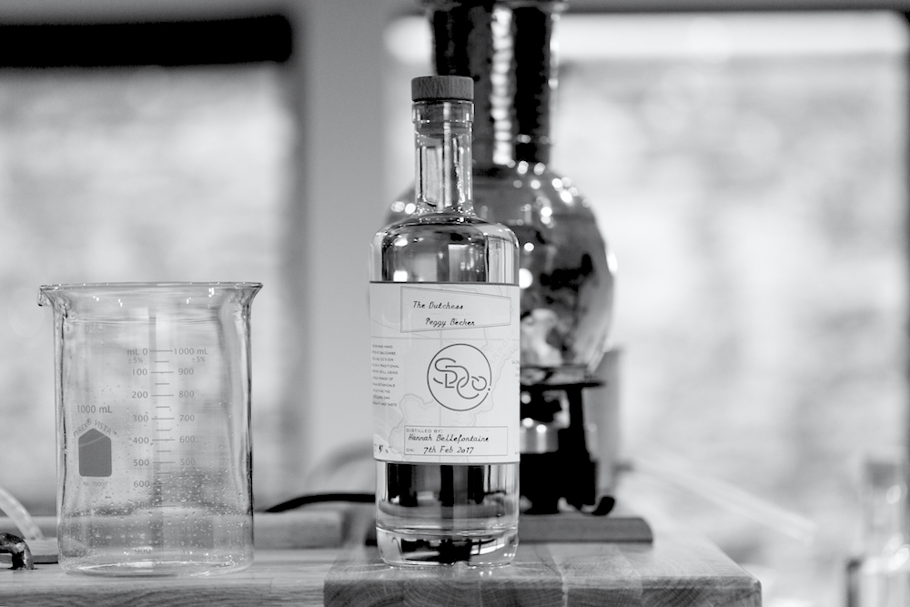 PERSONALISE YOUR BOTTLE - You'll enjoy sampling and naming your unique creation before bottling your gin. It's then time to apply a personalised label and place your bottle in one of our exclusive Gin School wooden presentation boxes for you to take home.