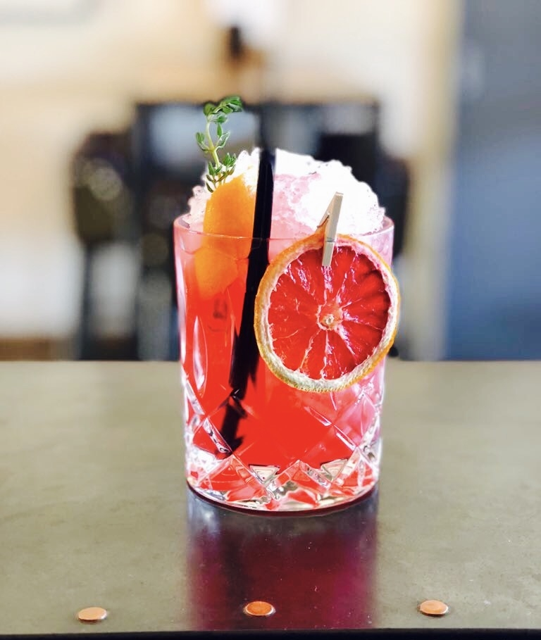 Give me moro - Sicilian gin cocktail