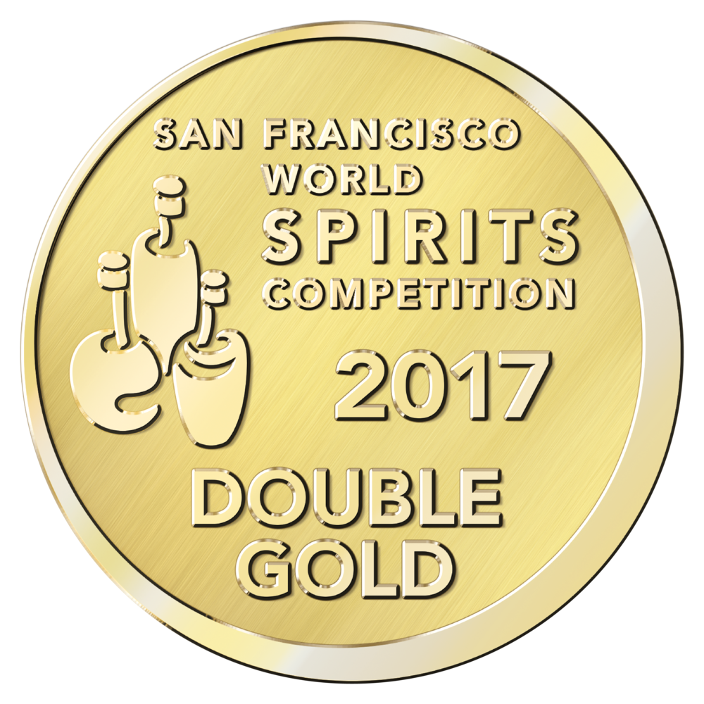 San Francisco World Spirits Double Gold 2017