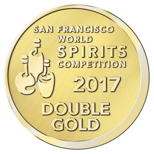 San Francisco World Spirits Double Gold 2017