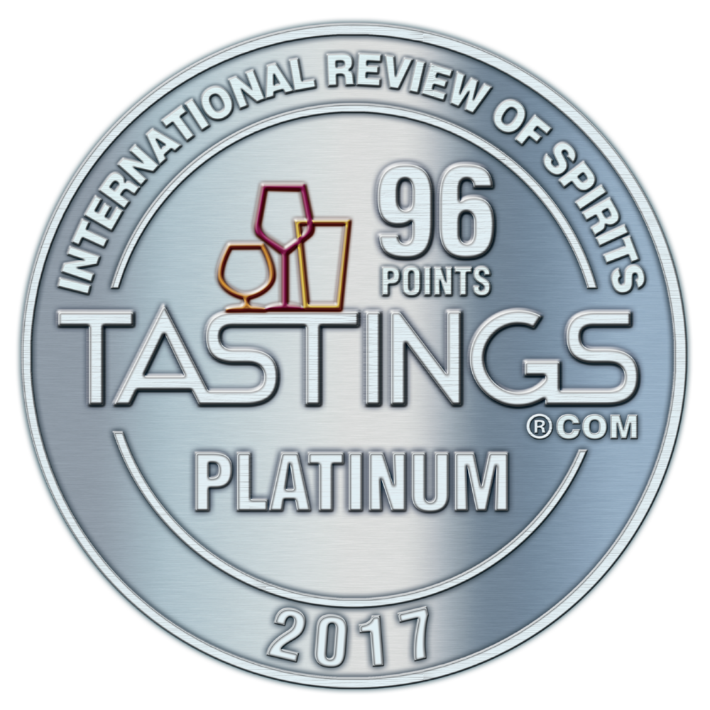 Beverage Testing Institute Platinum Medal 2017