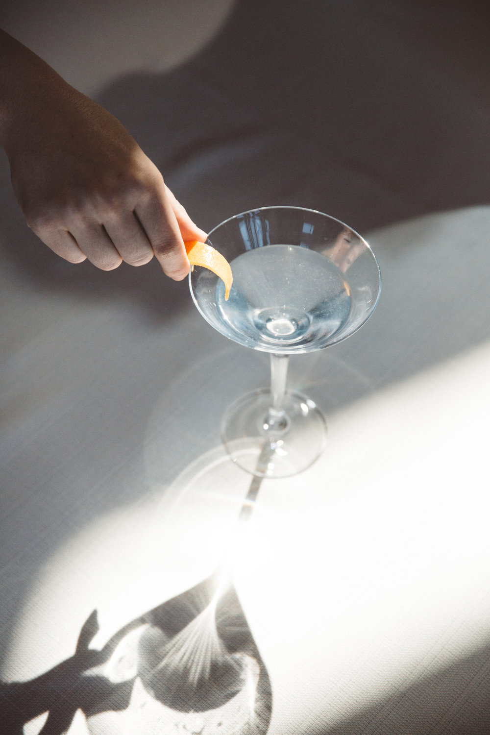 Salcombe Gin Pennant Martini cocktail